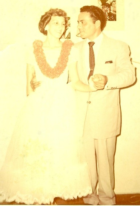 Wedding Day November 25, 1957